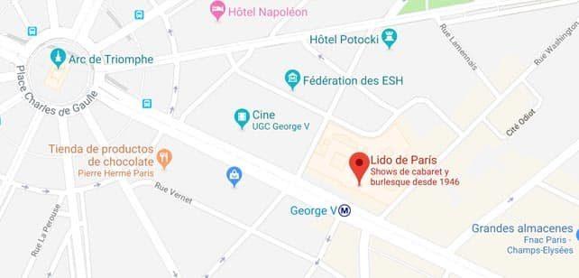 Francia-Paris-Lido-mapa