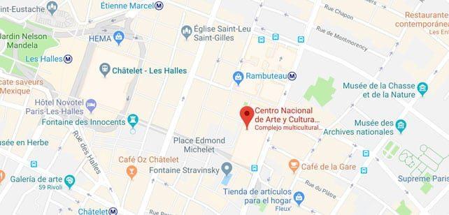 Francia-Paris-Pompidou-mapa