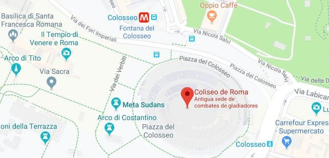 Italia-ColiseoSubterraneo-Mapa