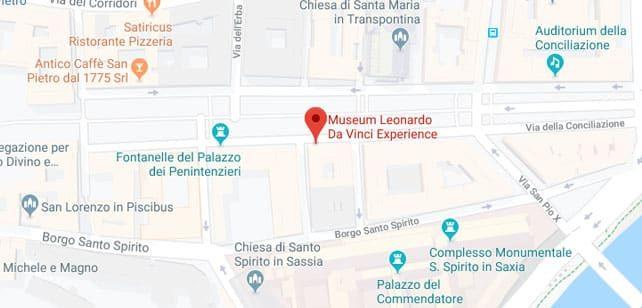 Italia-LeonardoExperience-Mapa