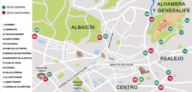 Mapa-Granada