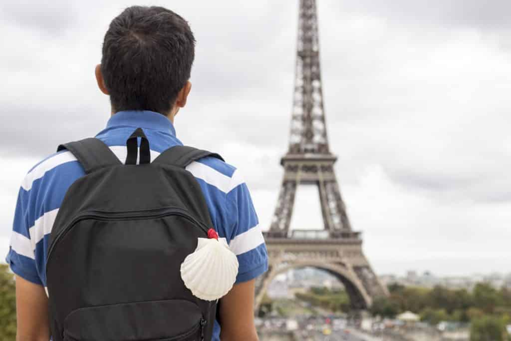 Camino de Santiago en Paris
