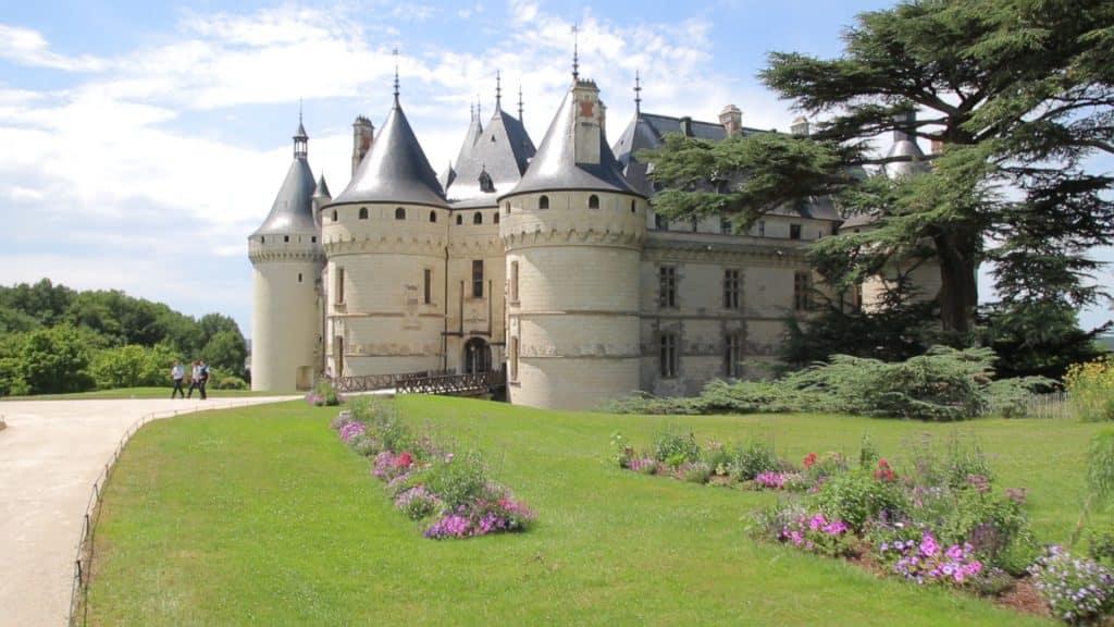 Castillo de Chaumont, valle de la Loire en Francia