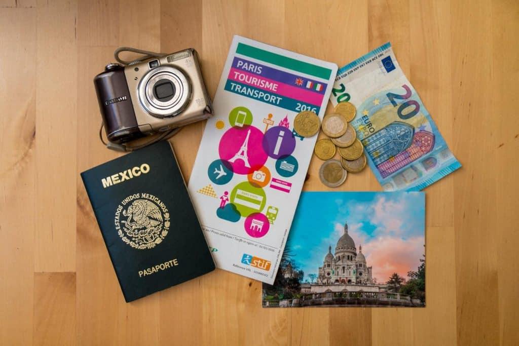 artículos para viajar